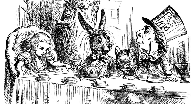 Alice-In-Wonderland-Lewis-Carroll-tea-party