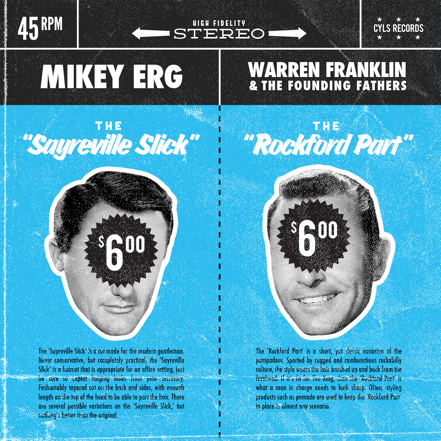 warren-franklin-mikey-erg-split-record-cover-art