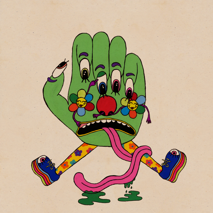 Album-art-for-Gliss-Riffer-by-Dan-Deacon