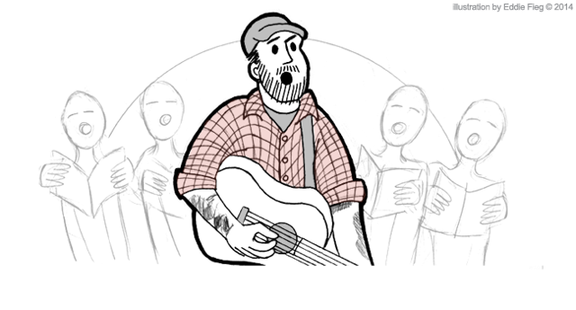 Derek-Zanetti-Homeless-Gospel-Choir-illustration-cartoon-Eddie-Fieg